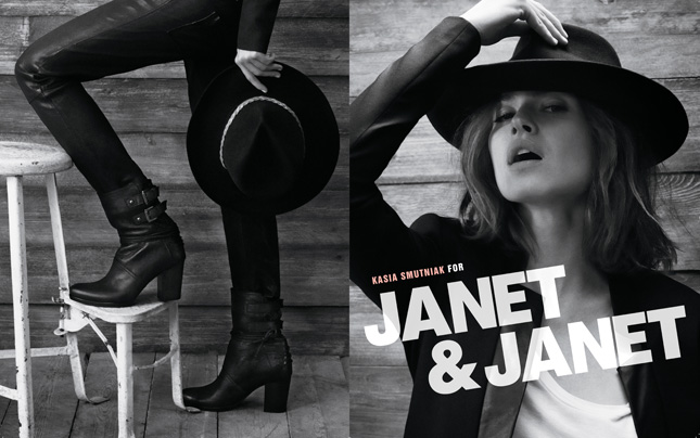 Kasia Smutniak per Janet & Janet   Fall-Winter 2012/2013