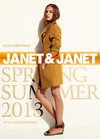 Kasia Smutniak per Janet & Janet   Spring-Summer 2013