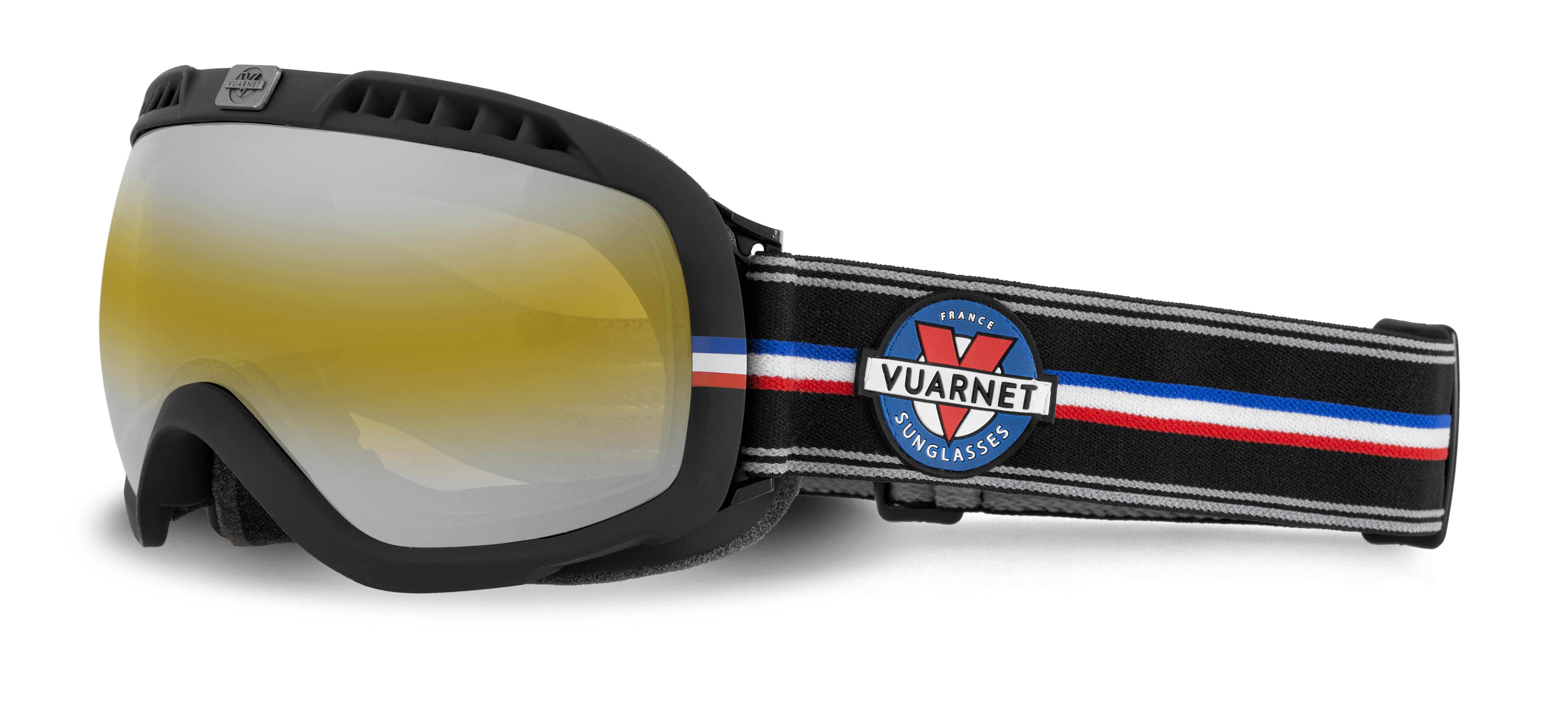 VUARNET - Maschera da sci - col. nero2