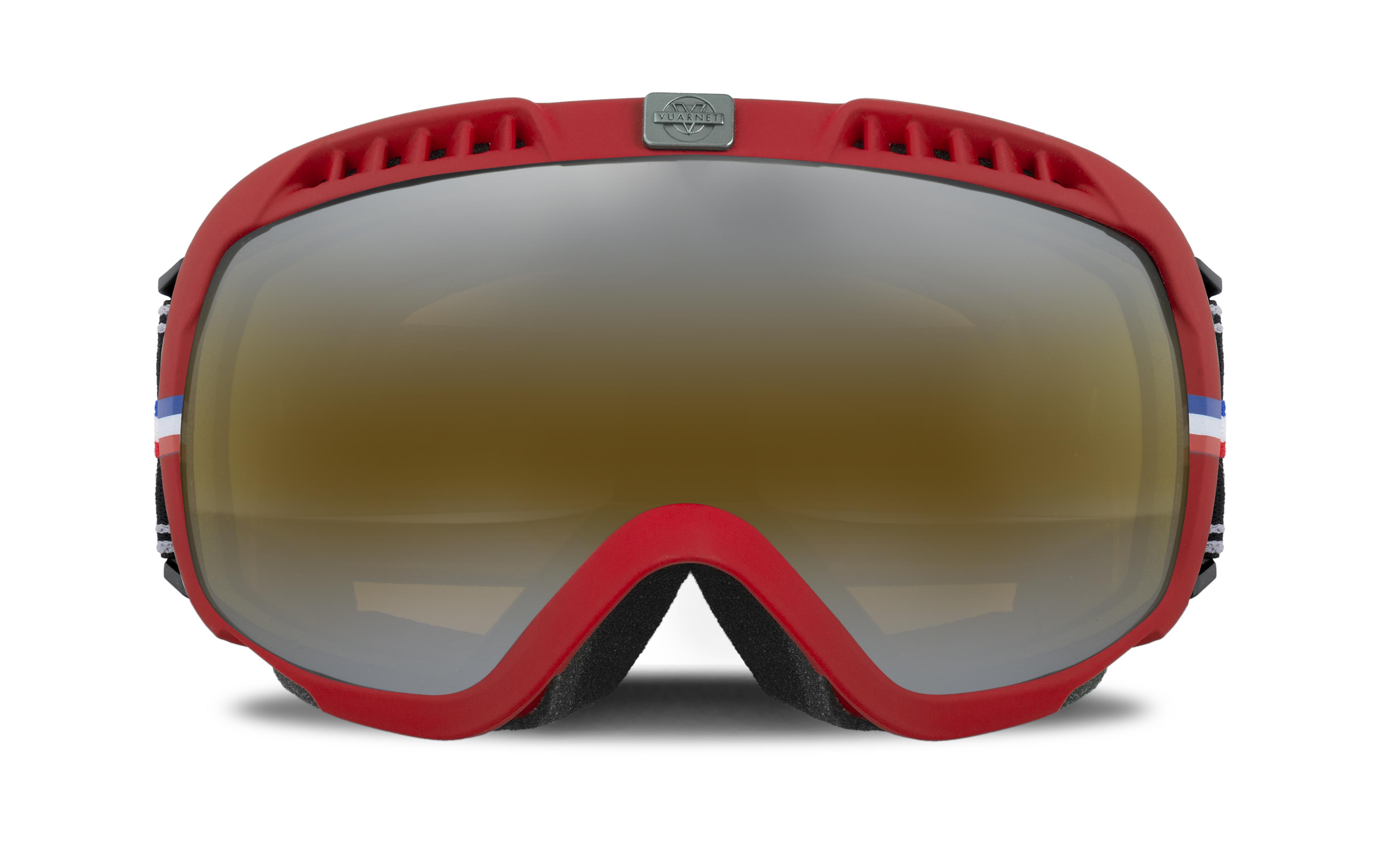 VUARNET - Maschera da sci - col. rosso