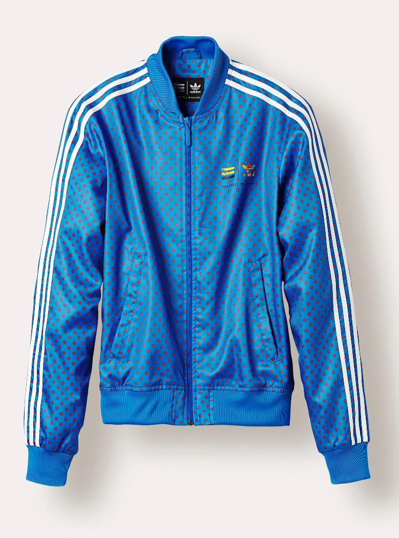 adidas_Superstar Track Jacket_Blue