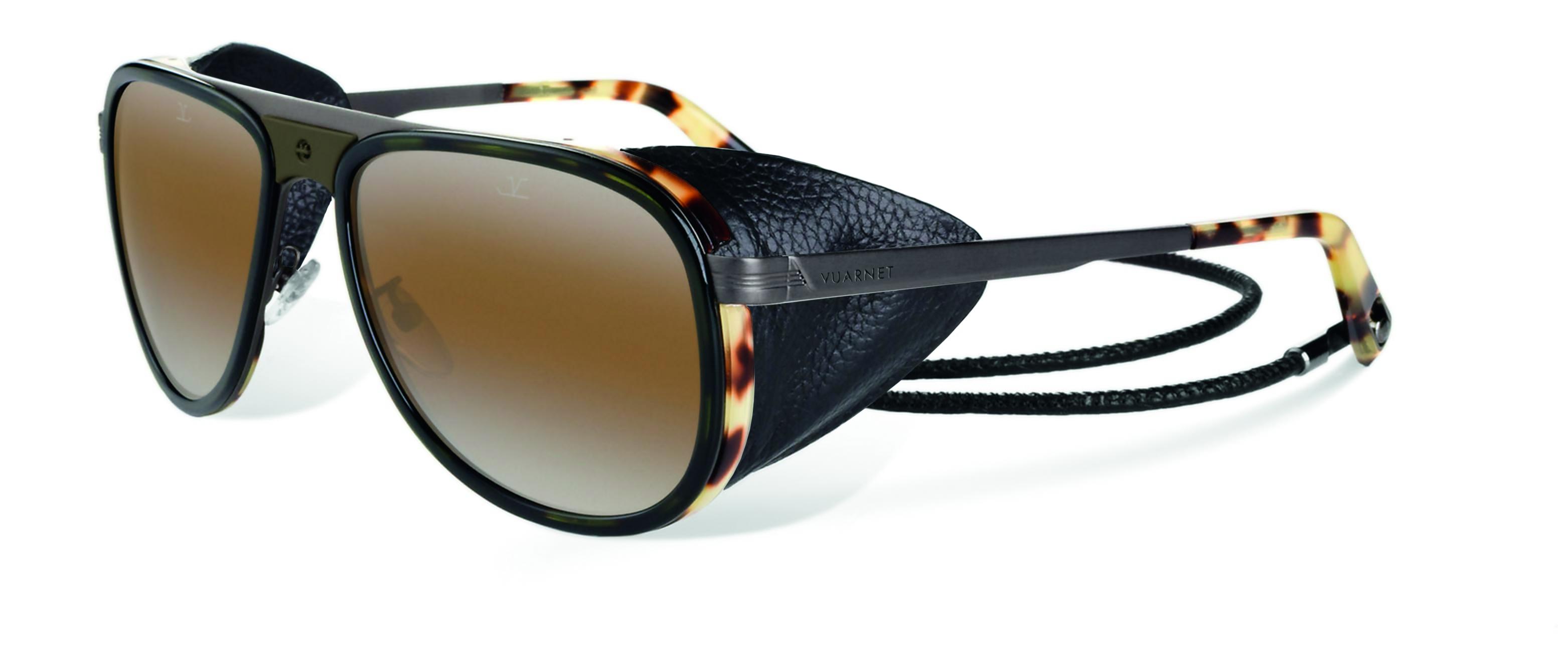 VUARNET Glacier - Dark tortoise acetate with SX2000 lens