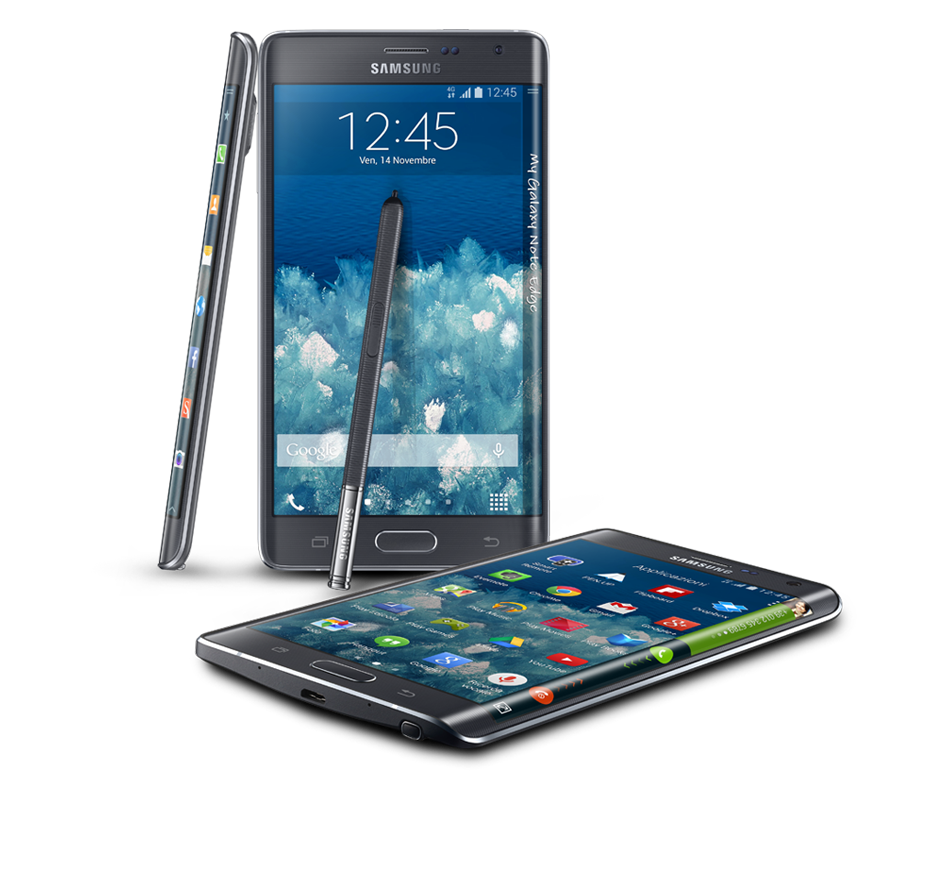 samsung galaxy note edge la rivoluzione ha inizio dal design fashion times. Black Bedroom Furniture Sets. Home Design Ideas