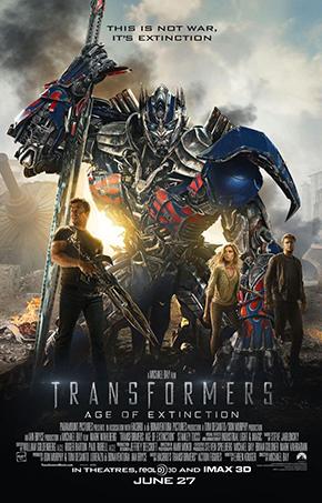 7°: Transformers: Age of Extinction - Transformers 4: L'era dell'estinzione