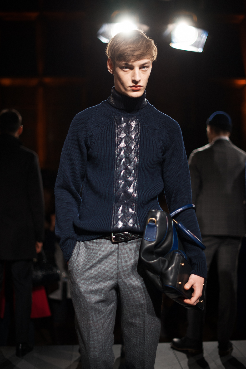 Cable Wax Sweater, Asaf Ganot