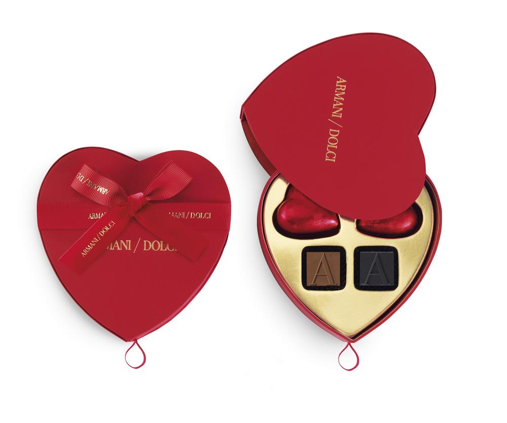 Armani Dolci Valentine's Day 2015 - 6pcs_heart shaped gift box