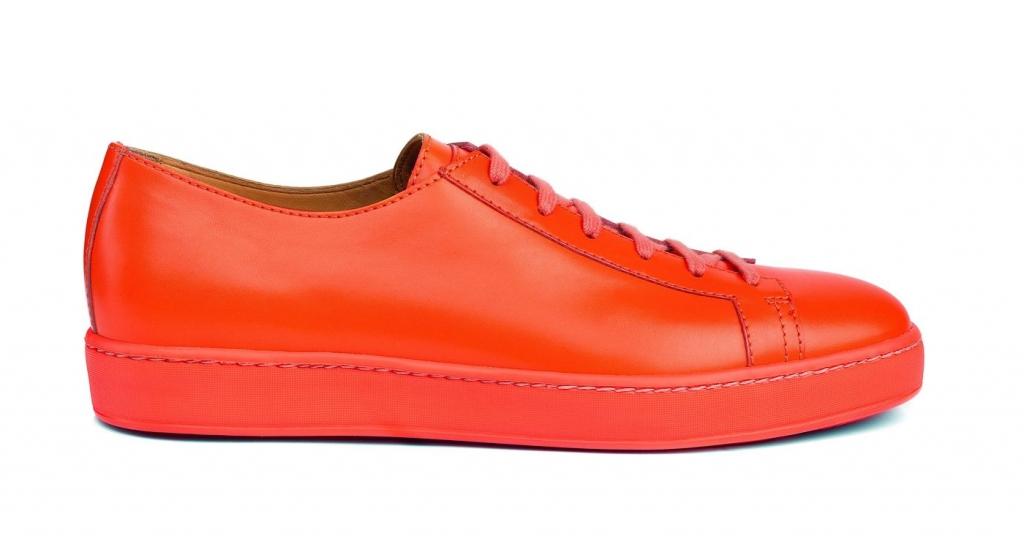 Santoni_Clean Ic - Orange