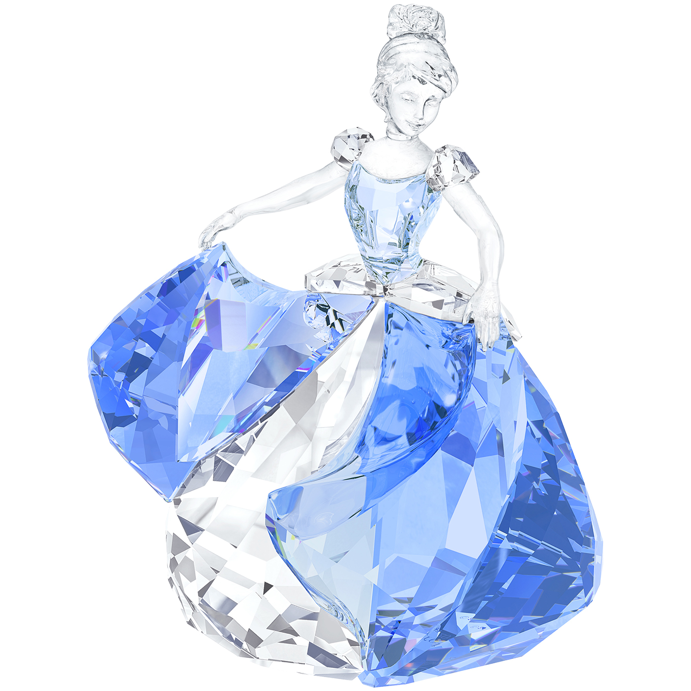 Blue Crystal Dancing Shoes