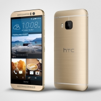 HTC One M9_Gold_Left