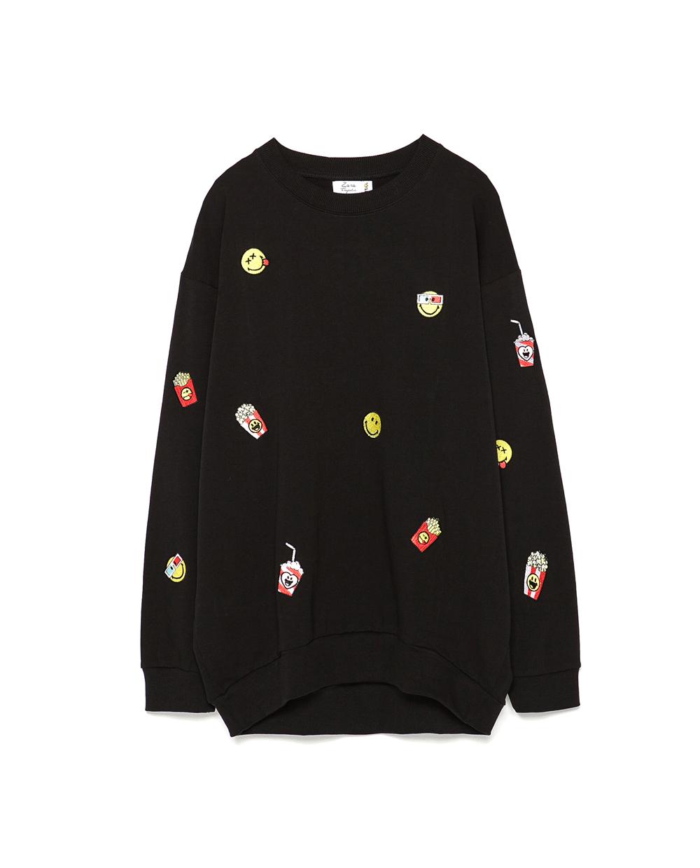 Zara Convoca Smiley Per Una T-shirt