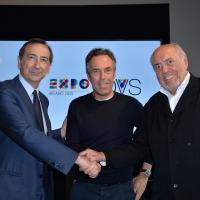 Giuseppe Sala, Stefano Beraldo e Elio Fiorucci