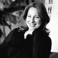 Anne Valerie Hash, directrice de la creation de la marque textile Comptoir des Cotonniers