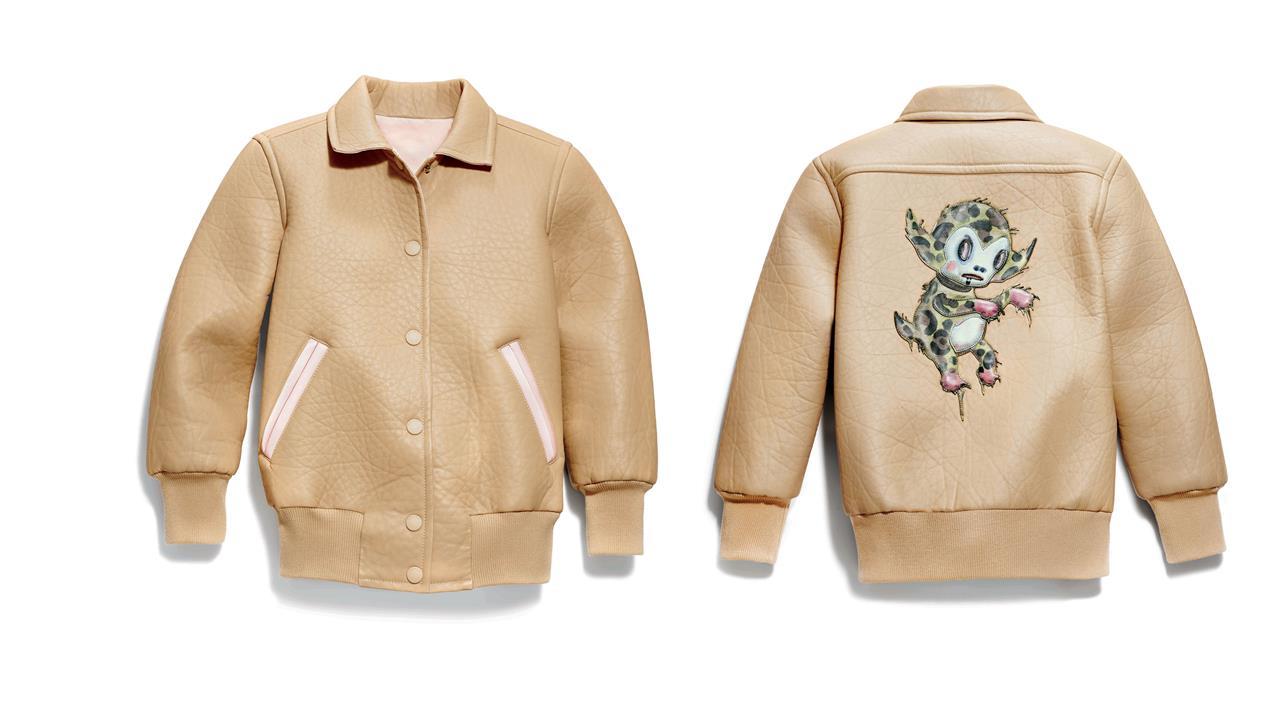 Coach Nappa Baseball Jacket brown (Copy)
