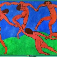 Henri Matisse La Danse 1909-1910  Saint-Pétersbourg  musée de l'Ermitage © Succession H. Matisse. Photo _ © The State Hermitage Museum, Saint Petersburg, 2015 - Vladimir Terebenin 2014
