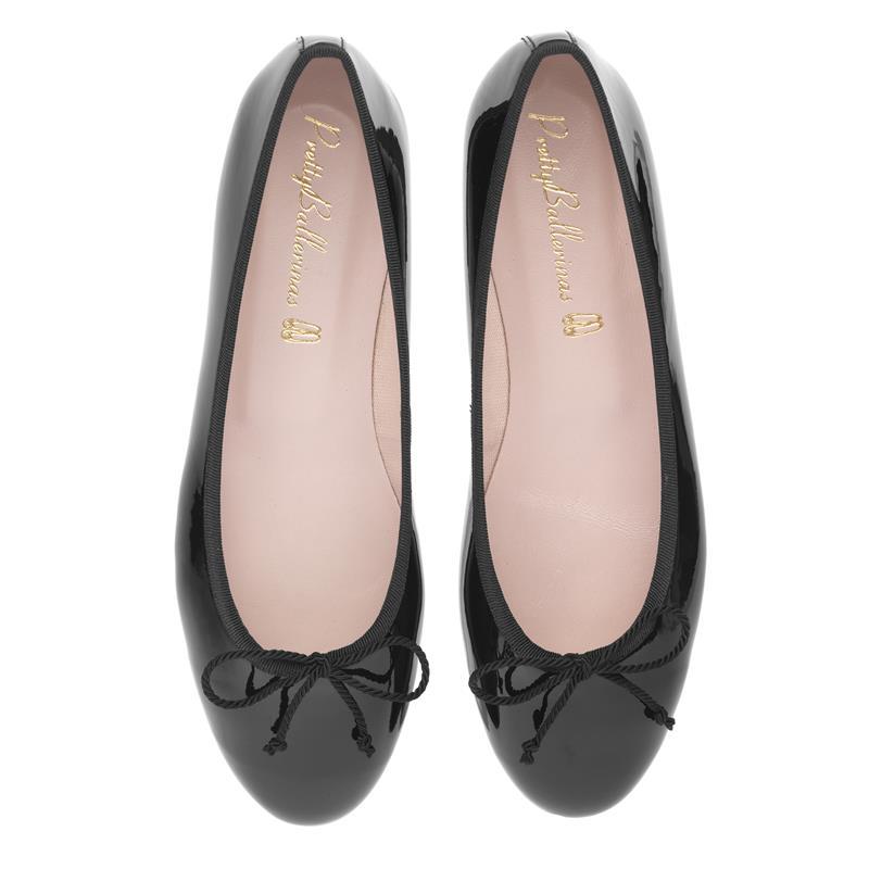 Pretty Ballerinas - Marylin Black Patent