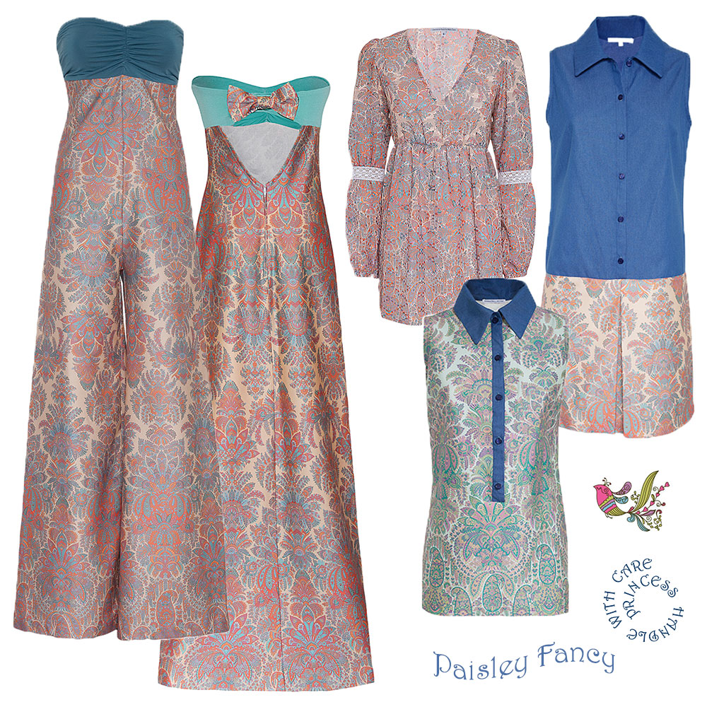 Princess Handle With Care trend paisley