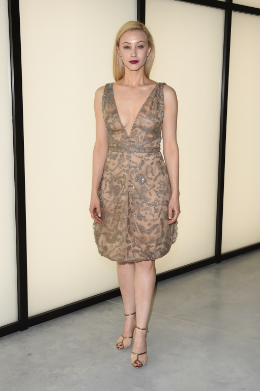 attends the Giorgio Armani 40th Anniversary Silos Opening And Cocktail Reception on April 30, 2015 in Milan, Italy.