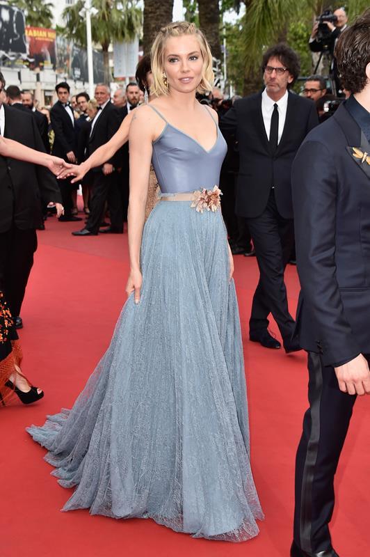 Sienna Miller in Gucci per cerimonia di chiusura del Festival di Cannes
