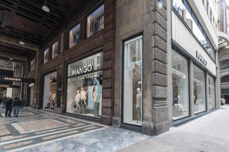 Mango inaugura il pi grande negozio d 39 europa a milano for Piani di costruzione del negozio con alloggi