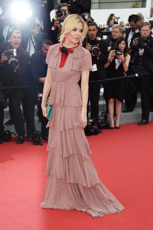 Sienna Miller in Gucci - Festival di Cannes