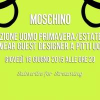 Moschino Fashion Show a Pitti Uomo 88