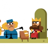 Google Doodle 800° anniversario Magna Carta