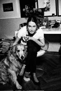Alice Gentilucci e Bowie [ph. Paolo Santambrogio]