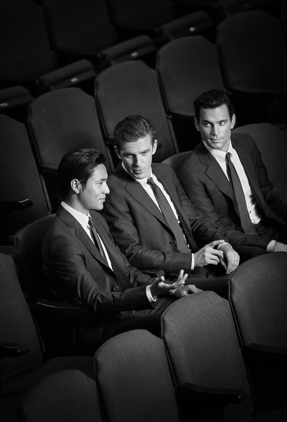 Chen Kun, Dan Stevens e Matt Bomer per Giorgio Armani Made to Measure