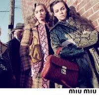Miu Miu campagna pubblicitaria FW 2015-16