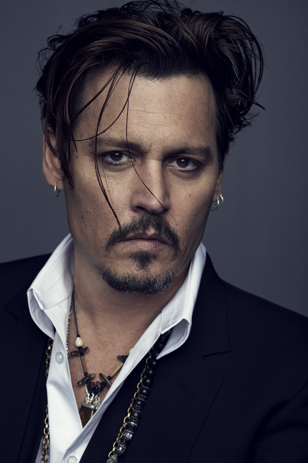 Johnny Depp nuovo volto Dior (Nathaniel Goldberg for Christian Dior Parfums)