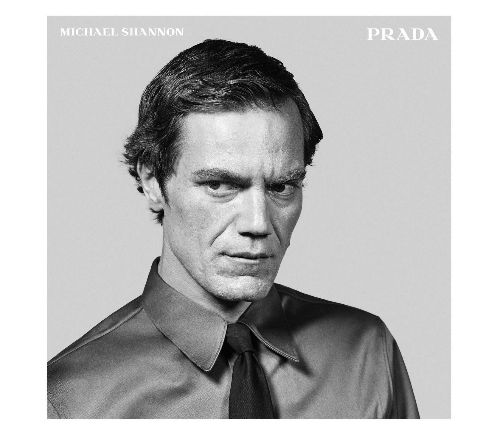 Michael Shannon per Prada FW15 Menswear Adv Campaign