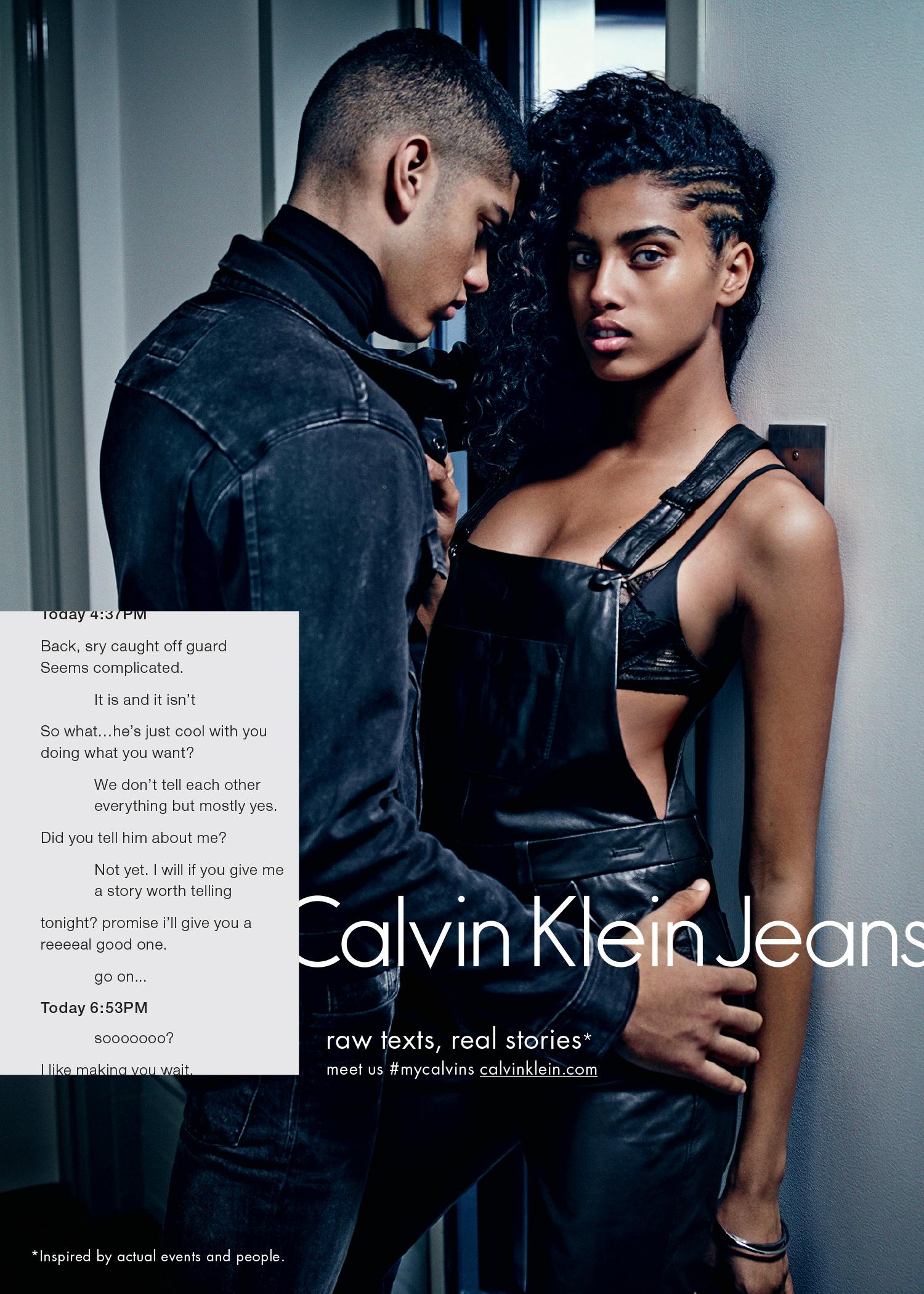 Calvin Klein Jeans - ph: Mario Sorrenti