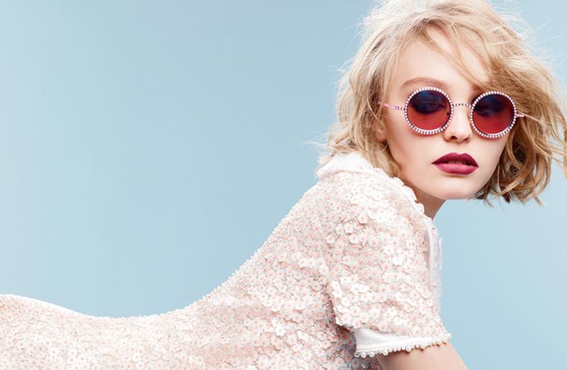 Lily Rose Depp per Chanel Eyewear