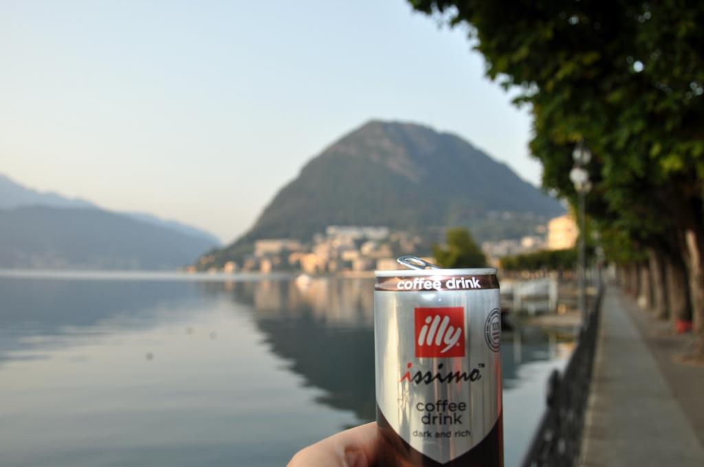 Pausa caffè a Lugano