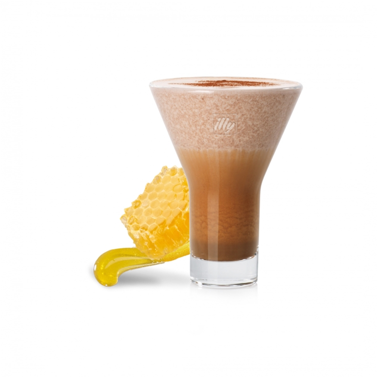 Espresso, latte scremato e miele di Sardegna