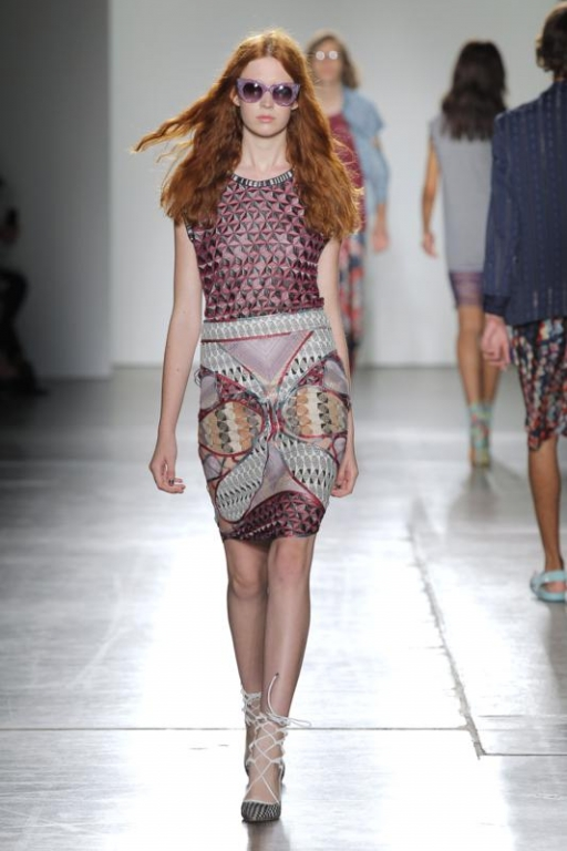 Custo Barcelona Spring-Summer 2016 / New York Fashion Week ...