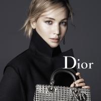 Jennifer Lawrence per la nuova campagna Dior