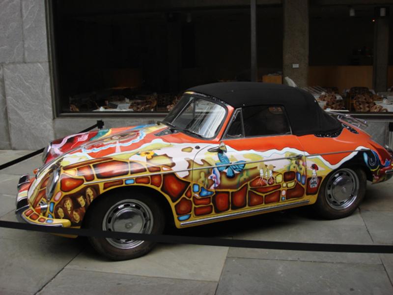 Porsche 356C 1600 Cabriolet del 1965 appartenuta a Janis Joplin