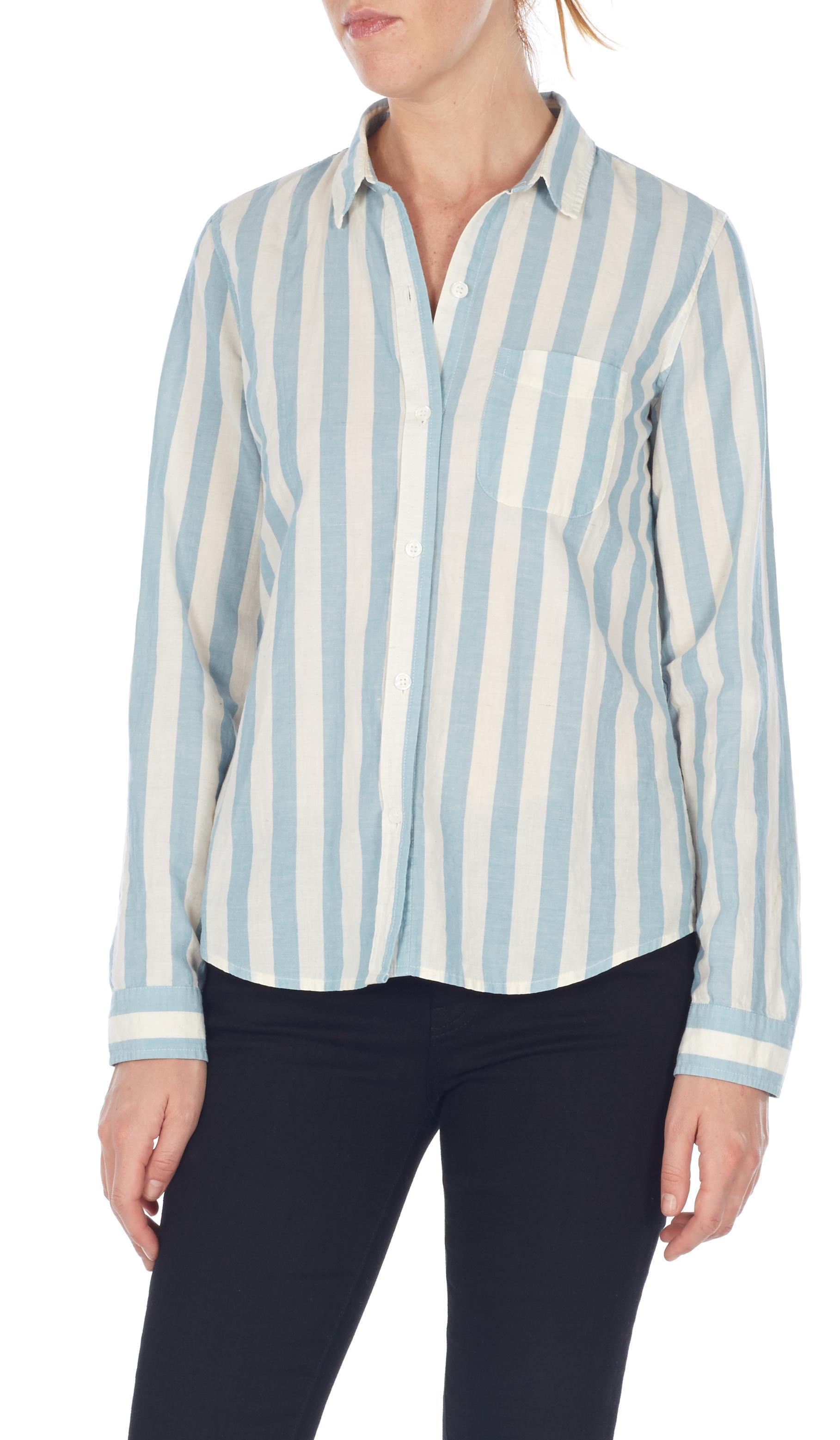 Slim boy shirt 2495-1613_AWNINGSTRIPE_FRONT_23077