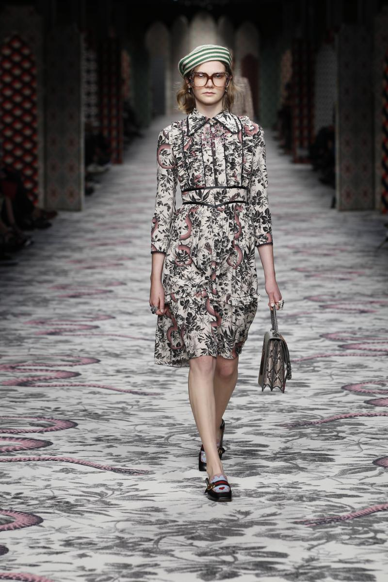 Gucci Spring-Summer 2016 womenswear collection / Milano ...