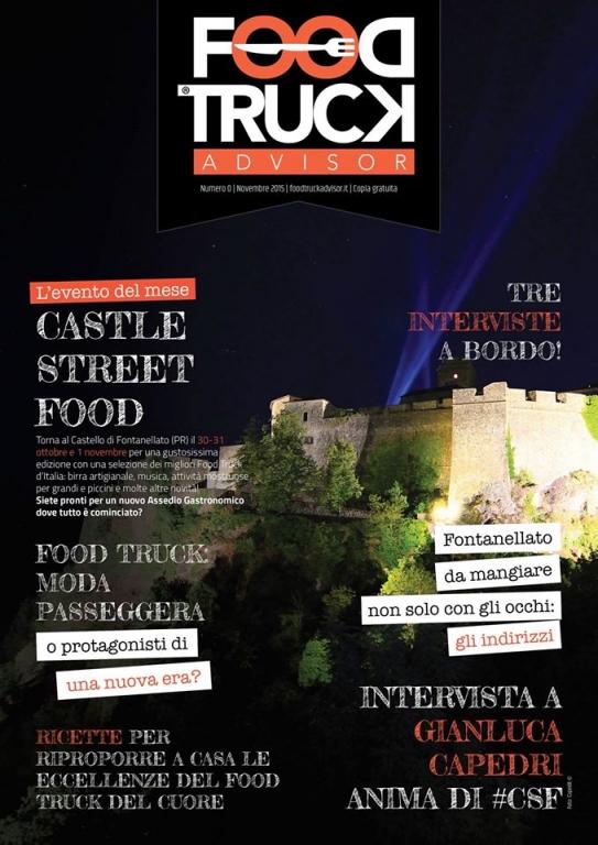 Food truck magazine