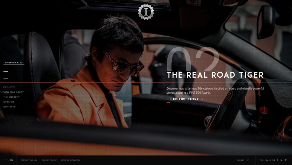 Lapo elkann online il sito di garage italia customs for Progettista di garage online