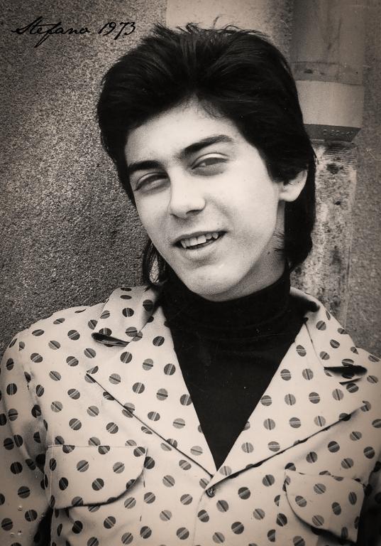 Stefano Chiassai nel 1973