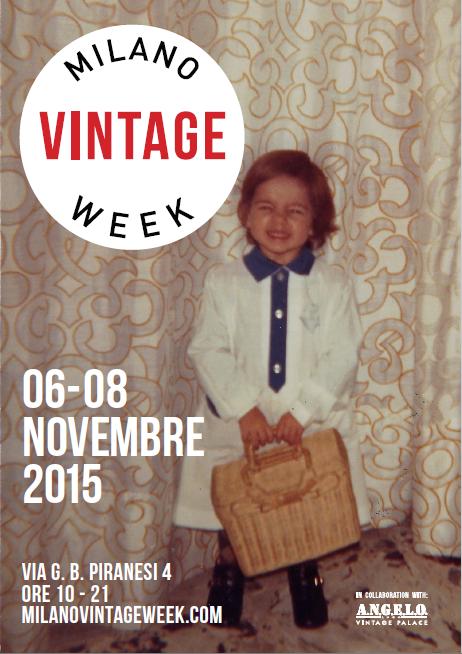 Milano Vintage Week - 6_8 novembre 2015