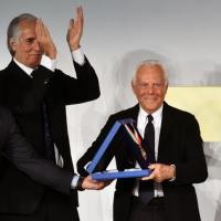 Collare d'oro 2015 Giorgio Armani