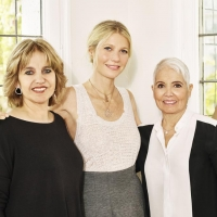 Rosa Tous, Corporate Vice President of TOUS Jewelry; Gwyneth Paltrow; Rosa Oriol, Founder of TOUS Jewelry