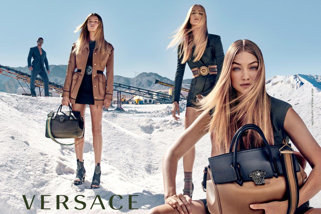 versace adv campaign