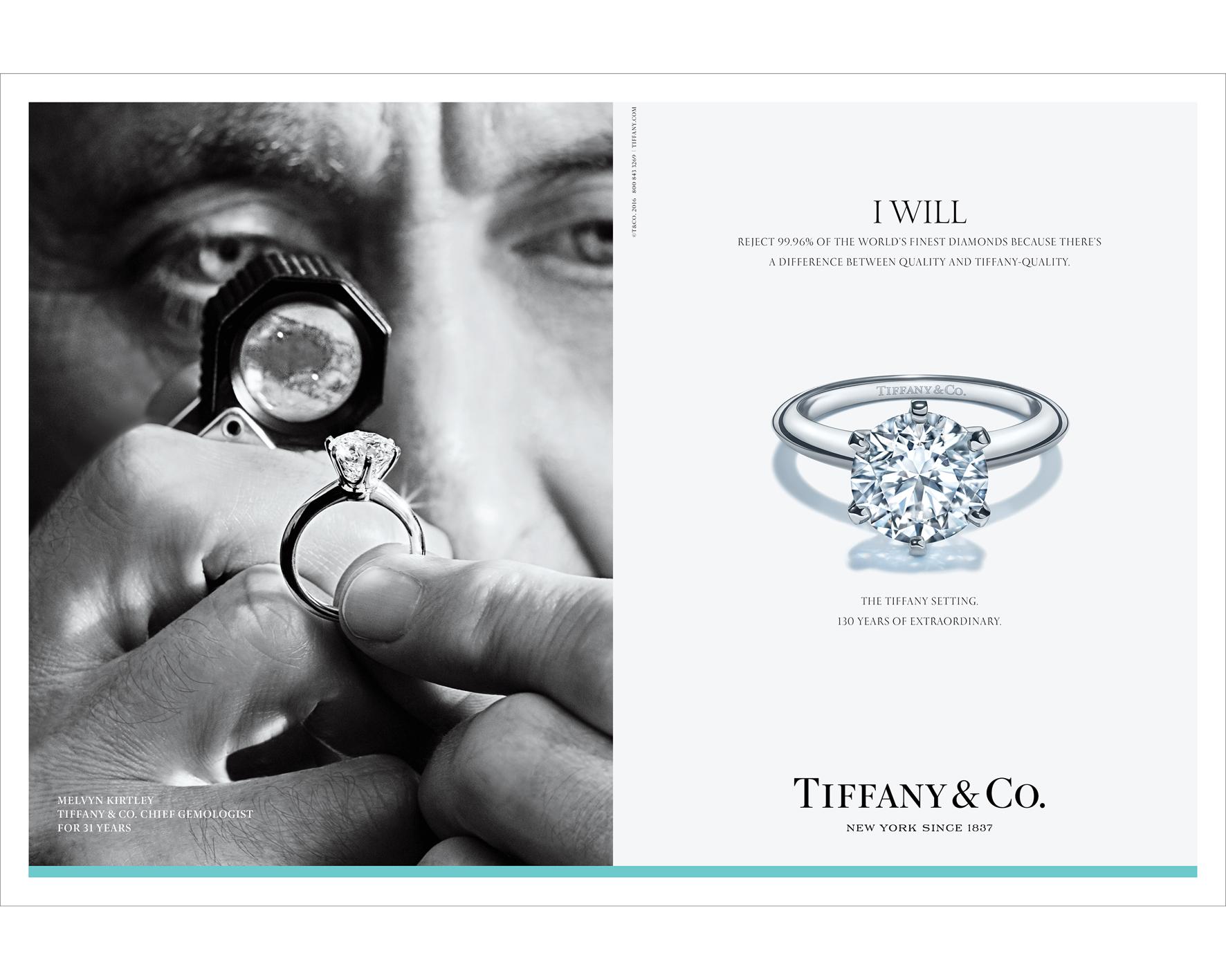 scarpe di separazione 9eeda 8669d I Will: Tiffany & Co. celebra I 130 anni dell'anello più ...