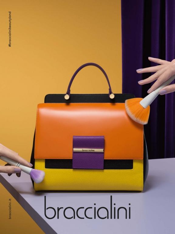 Borse Braccialini Estate 2018 : Braccialini campagna adv fashion times