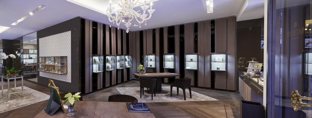Bucellati - Interno della boutique di Parigi